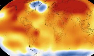 March was the hottest of all months since 1891