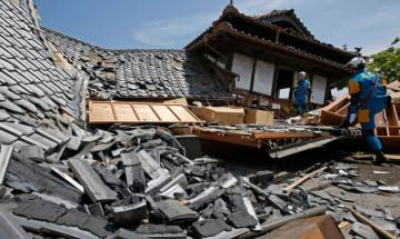 Japan battles to care for 100,000 evacuees after quake