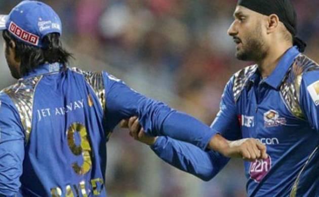 Harbhajan Singh, Ambati Rayudu exchange ugly verbal spat during Mumbai Indians vs Rising Pune Supergiants match
