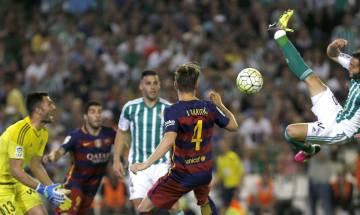La Liga: Barca beat Betis, Atletico, Real keep up pressure