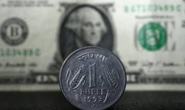 Rupee down by 8 paise to trade at 66.95 against US dollar