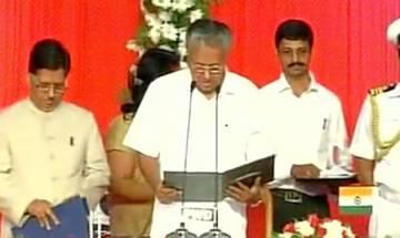 Pinarayi Vijayan takes oath as Chief Minister of Kerala