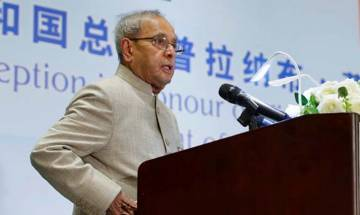 India, China to play constructive role in 21st century: President Pranab Mukherjee