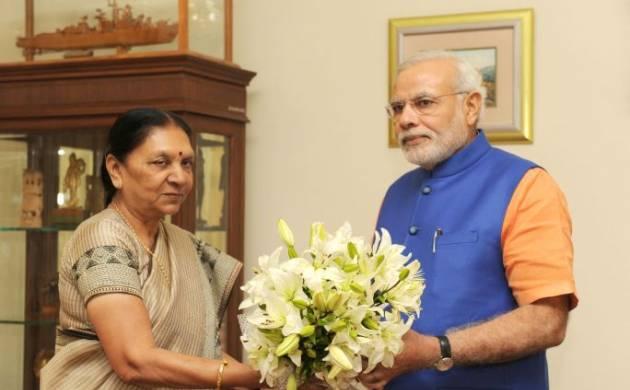 PM Narendra Modi a popular leader, says Gujarat CM Anandiben Patel.( Source: www.narendramodi.in)
