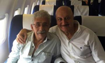 Naseeruddin Shah, Anupam Kher spar over campaign for Kashmiri Pandits