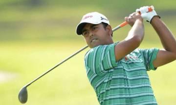 Lahiri shoots 69 despite misses and bad breaks