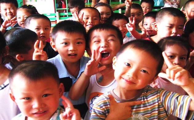 Chinese children 8-cm taller than four decades ago: Survey