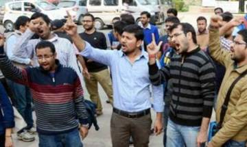 JNU students protest outside HRD ministry, 36 detained