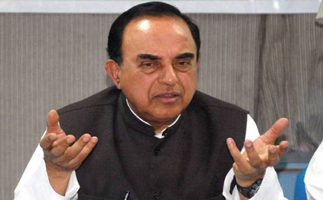 "Former IMF chief economist had planted ""a time bomb"" in the Indian financial system: Subramanian Swamy"