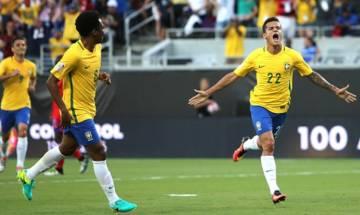 Copa America: Philippe Coutinho leads Brazil rout as Ecuador thwart Peru