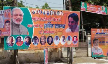 Poster war in Allahabad as BJP leaders arrive for National Executive meeting