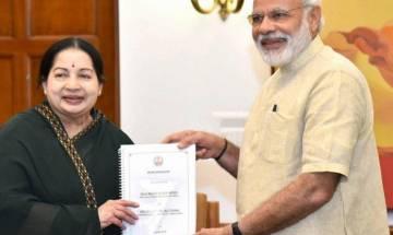 Jaya meets PM Modi, says GST impacts fiscal autonomy of states like Tamil Nadu