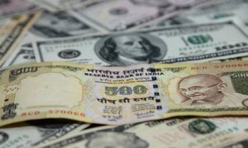 Rupee gains 8 paise against US dollar on fresh selling
