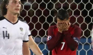 Euro Cup 2016: Record chasing Cristiano Ronaldo fluffs; becomes target