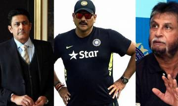 Anil Kumble to face former teammates in interview for new head coach