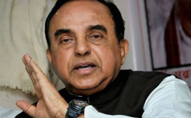 Subramanian Swamy meets Home Minister Rajnath Singh