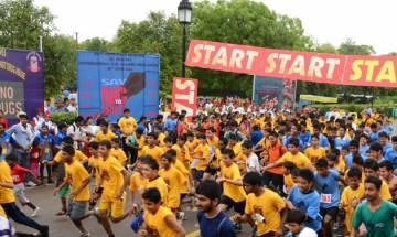 Walkathon in Delhi to create awareness against drug abuse