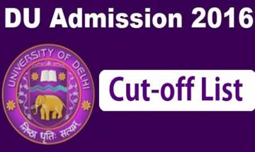 DU second cut off list 2016: Second cut off list to be released today by Delhi University