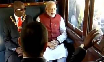 PM Narendra Modi retraces Mahatma Gandhi's train journey in South Africa