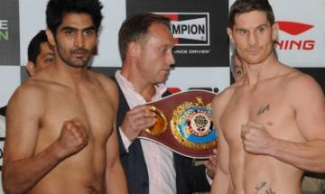 WBO Asia Pacific super middleweight title: Vijender Singh takes on Kerry Hope