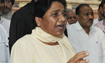 BJP's action against Dayashankar Singh not enough, says Mayawati