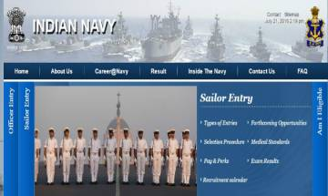 Indian Navy Recruitment 2016: Apply for various MTS vacancies at joinindiannavy.gov.in