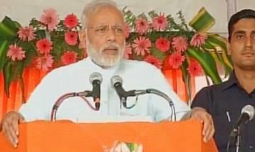 PM Narendra Modi from Gorakhpur: 2nd green revolution is going to happen in eastern UP, says Modi