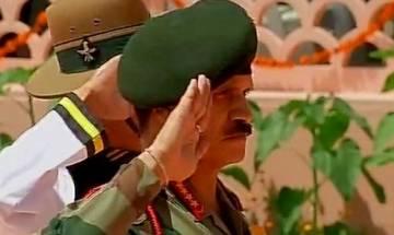 Kargil Vijay Diwas: Army Chief Dalbir Singh pays tribute at war memorial