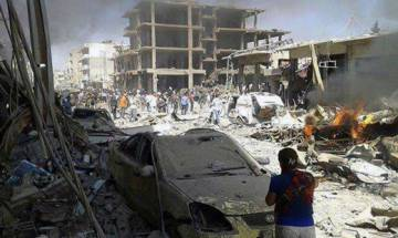Islamic State claims deadly twin bombing in Syria's Qamishli; 44 dead, over 20 injured