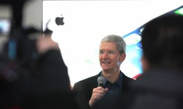 Apple CEO Tim Cook says looking forward to opening retail stores in India