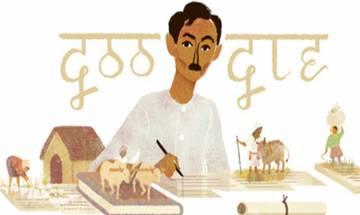 Google doodle celebrates Munshi Premchand's 136th birthday