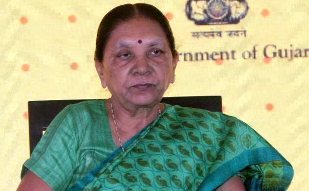 File Photo of Anandiben Patel