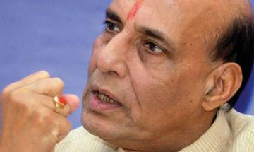 Rajnath barely shook hands with his counterpart Khan at SAARC meet