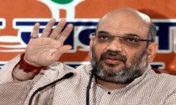 Amit Shah arrives in Ahmedabad, holds talks to choose new CM