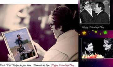 Amitabh Bachchan wishes Dharmendra, Shatrughan Sinha on friendship's day