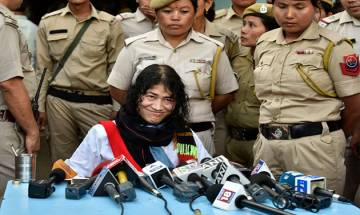 Yoga and will power made Sharmila survive for 16 years