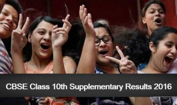CBSE Class 10th Supplementary results 2016 expected today, Check online @ cbseresults.nic.in