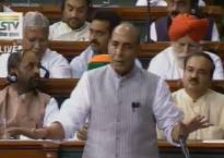 Dalit issue should not be politicised, says Rajnath Singh in Lok Sabha