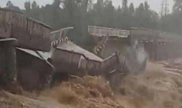 Rains continue to lash Himachal Pradesh, 44-yr-old bridge washed away