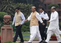 Ahead of 70th Independence Day, Rajnath Singh reviews security situation
