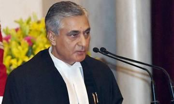 Heed CJI's advice: Congress to Modi; Kejirwal admires top judge's courage