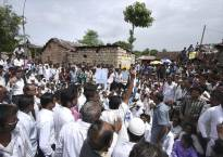 Dalit group thrashed by mob; victims allege police inaction
