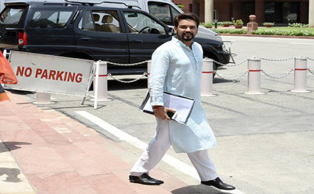 Anurag Thakur, BCCI president (File Photo)