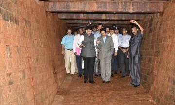 Maharashtra Governor discovers 10 metre long British era bunker below Raj Bhavan