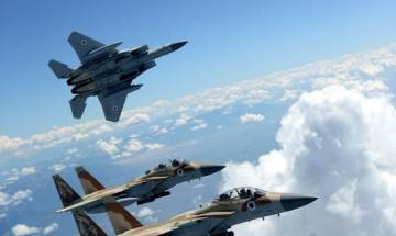 Israel Air force participate in military exercise with Pakistan and UAE