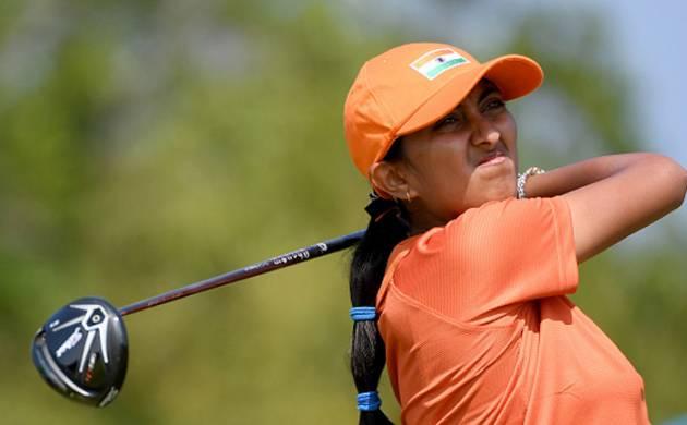 Golfer Aditi Ashok (Source: Getty)