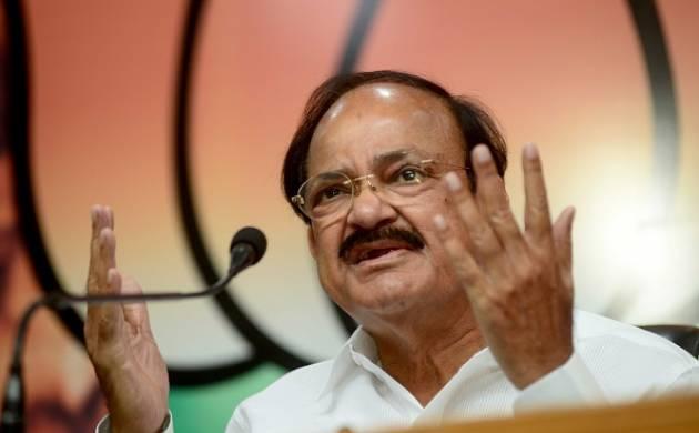 Venkaiah Naidu blasts Rahul over his attack on BJP