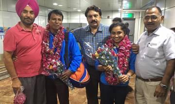 Tripura: Dipa Karmakar returns home to a hero's welcome, credits win to her Indian coach