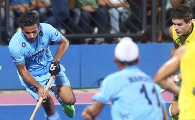 Indian men's hockey team at Rio Olympics