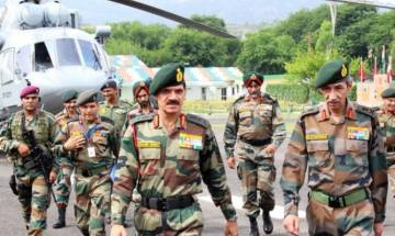 Army Chief General Dalbir Singh visits Kashmir, asks forces to exercise restraint